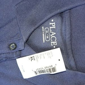 Other - NEW girls polo shirt XL 14 navy blue by The Childr